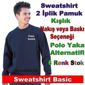 Firma Logolu Sweatshirt